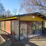 Volière in Kinderboerderij de Goffert, geopend in 2019