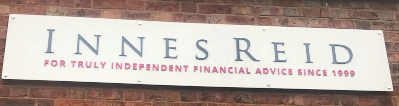 Innes Reid - Office Expansion New Signs