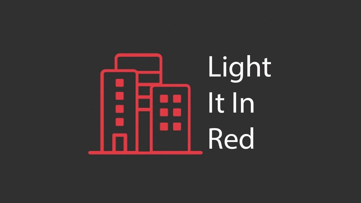Tyne Theatre & Opera House set to 'Light It In Red'.