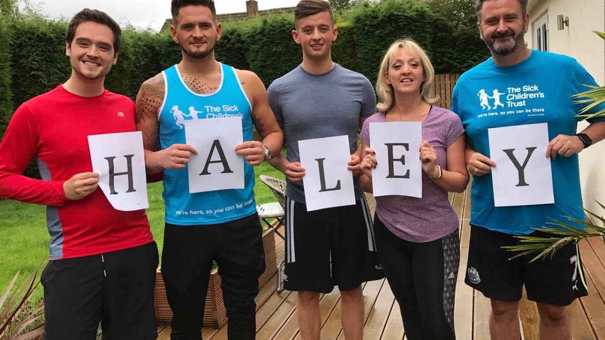 'TOON COUNCIL' RUNNERS KEEP GREAT NORTH RUN SPIRIT ALIVE BY HOSTING OWN SOCIALLY DISTANCED EVENT FOR THE SICK CHILDREN'S TRUST