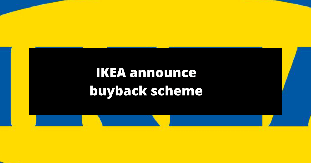 IKEA launches buyback scheme
