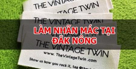 Làm nhãn mác tại Đắk Nông