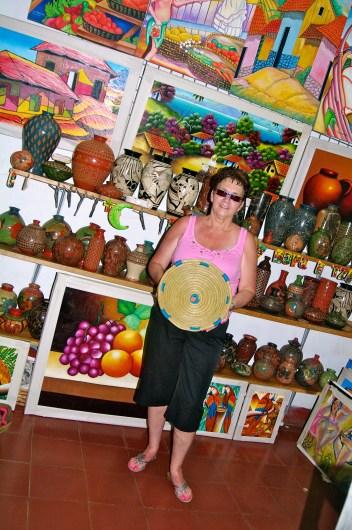 Pine Needle Basket Nicaragua