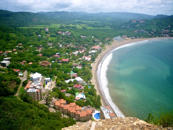The Bay of San Juan del Sur