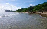 Playa Maderas is a popular surfing beach located 20 minutes North of San Juan del Sur.