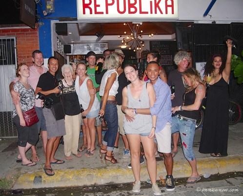- New Year's Eve 2014: Bar Republika, San Juan del Sur, Nicaragua
