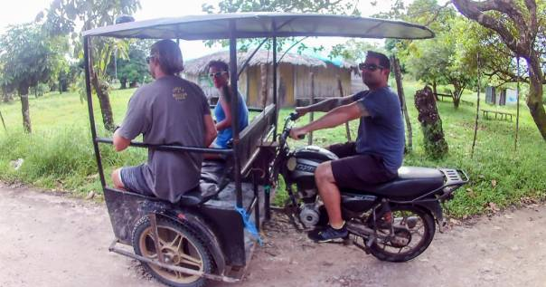 Ride from San Juan del Sur to Pearl Lagoon