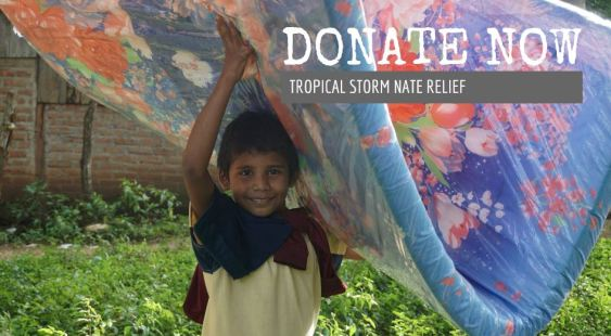 DONATE NOW! Tropical Storm Nate Relief Mission