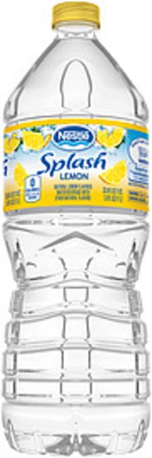 Is Nestle Splash Good For You : nestle, splash, Nestle, Splash, Lemon, Flavored, Water, Beverage, Nutrition, Information, Innit