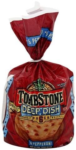 Tombstone Pizza Nutrition : tombstone, pizza, nutrition, Tombstone, Dish,, Pepperoni, Pizza, Nutrition, Information, Innit