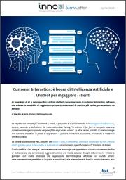 Intelligenza Artificiale - SlowLetter Aprile 2018