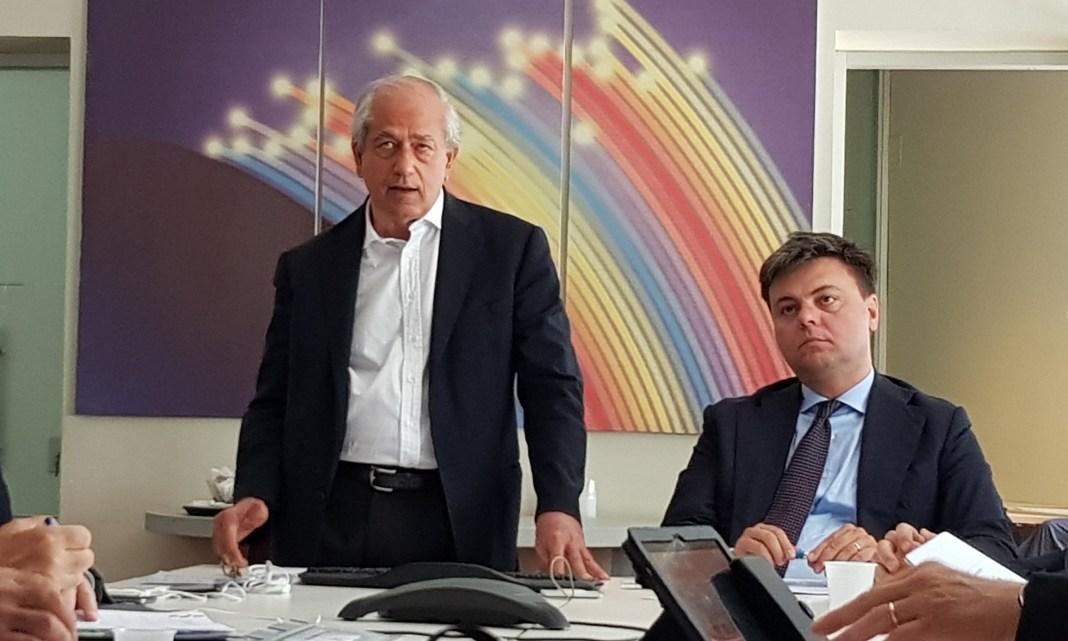 Giancarlo Capitani, presidente di NetConsulting cube e Marco Gay, presidente di Anitec-Assinform