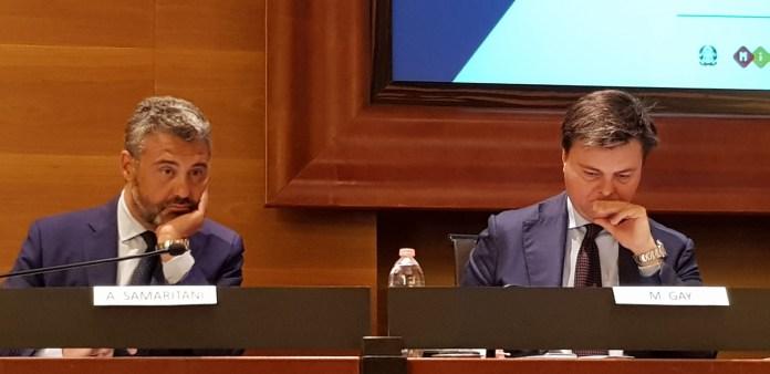 Osservatorio delle Competenze Digitali 2018 - Antonio Samaritani, Direttore generale di AgID e Marco Gay, Presidente di Anitec-Assinform
