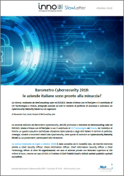 Speciale Barometro Cybersecurity 2018 - SlowLetter Ottobre 2018