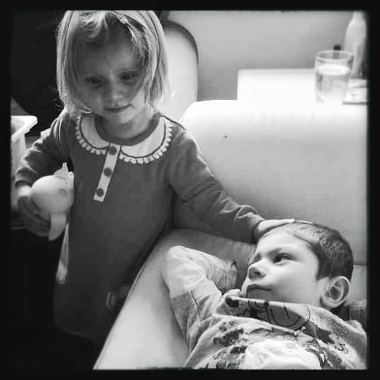 tenderness between siblings