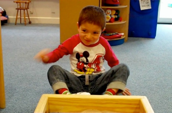 Grayson at Special Needs Preschool