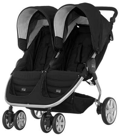 britax double pushchair