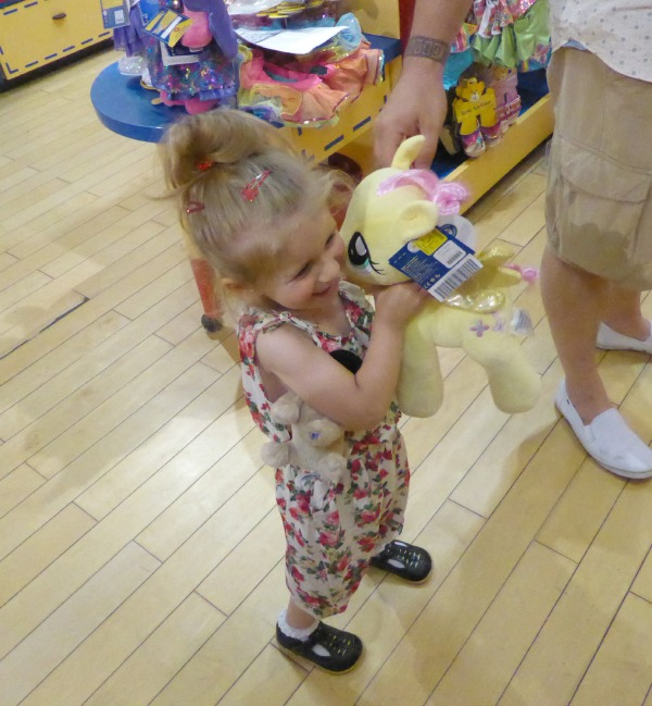 Addison at Build a Bear