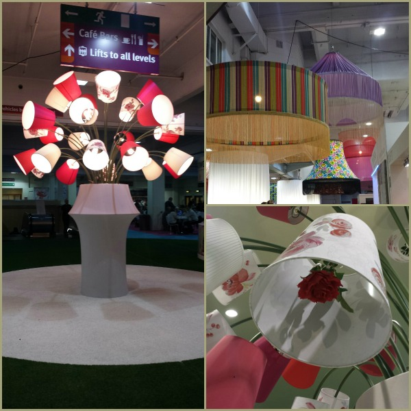 Lights at Ideal Home Show