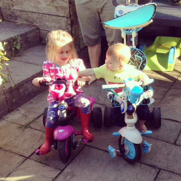 Sibling SmarTrike action