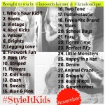 Style It Kids – An Instagram Project!!!!