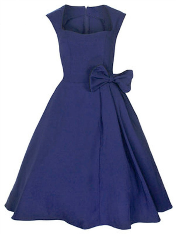 plus size 50's dress