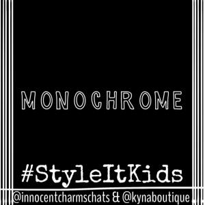 Hello my #Styleitkids community. Thank you for an awesome week of favourites - we have loved seeing them all. This week it is all about the black and white. Something I am starting to introduce to my colour loving kids wardrobe. Show me how to do it well.