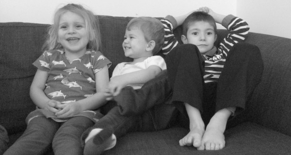 My siblings in April