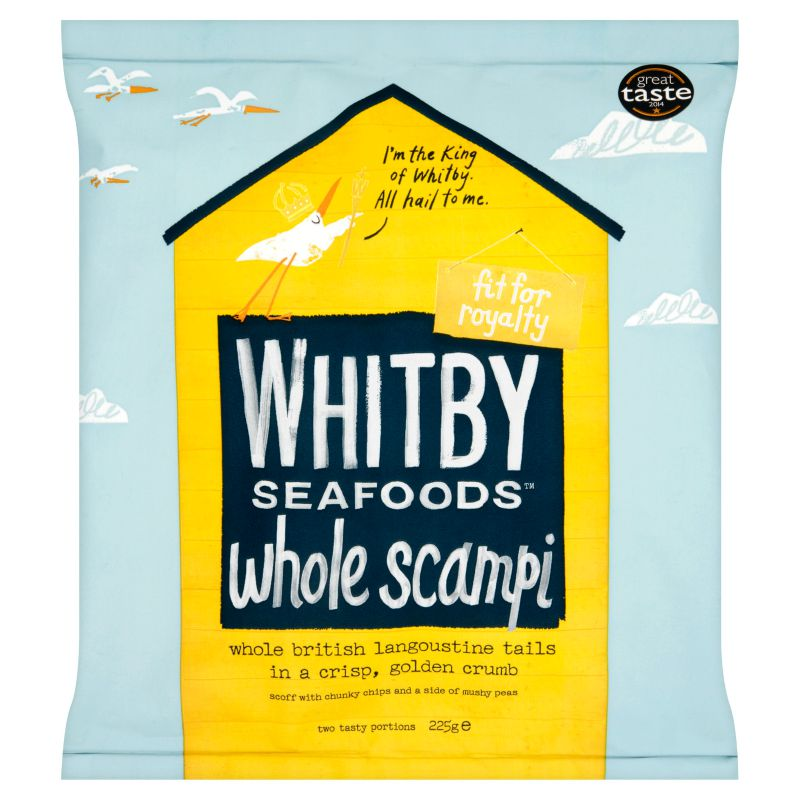 Whitby Scampi Review