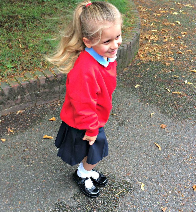 Addison first day at school