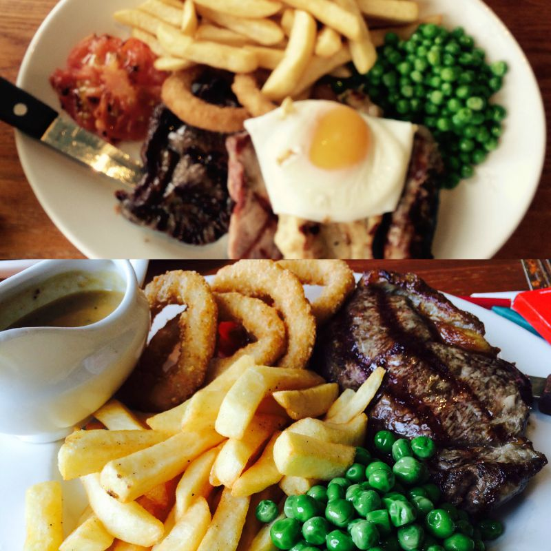 Meals at Brewers Fayre