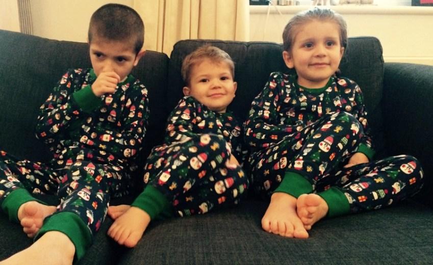Kids at Xmas