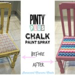 DIY // Upcycling With Pinty Plus Chalk Paint Spray