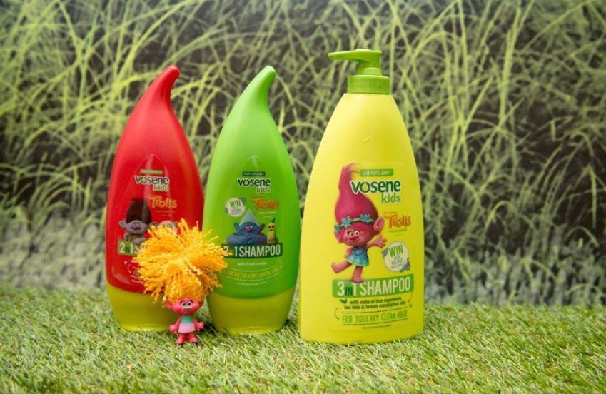 Vosene Kids Shampoo with #Dreamworktrolls
