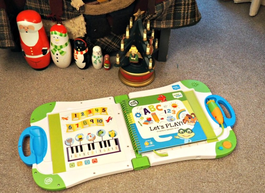 Preschhol Interactive Toy, a review of LeapFrog LeapStart Preschool Interactive Learning System