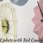 Growing Our Clock Wall With Red Candy