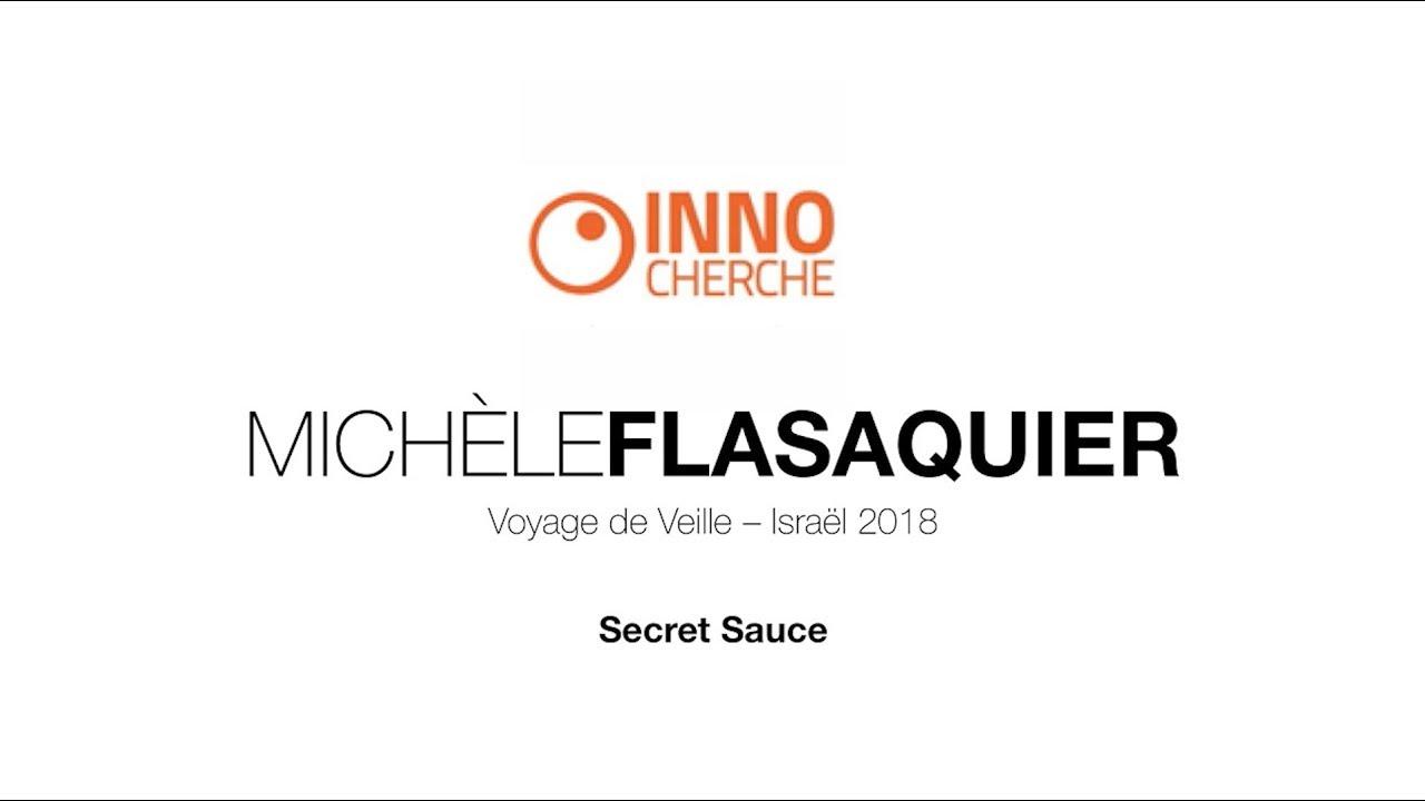 Israël-Secret-Sauce