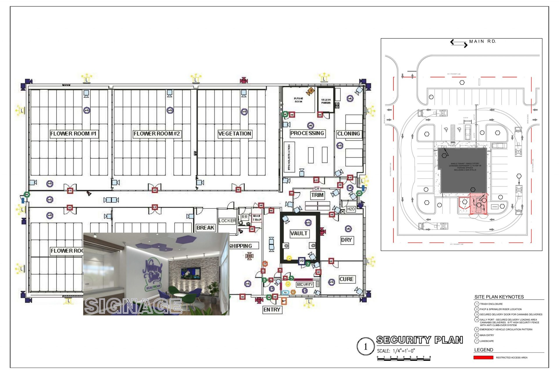 Security Layout