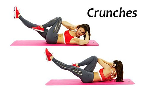 Crunch Exercise