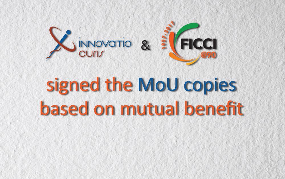 InnovatioCuris and FICCI signed MoU