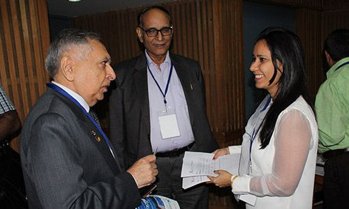 Avantika Singh, Dr Ajit Kumar Nagpal and Dr VK Singh at IC Innovator Club Meeting