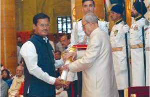 Arunachalam awarded by President