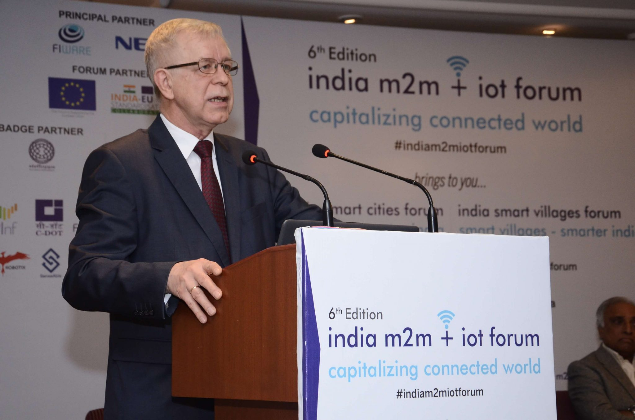 6th Edition of India m2m + iot Forum 2019