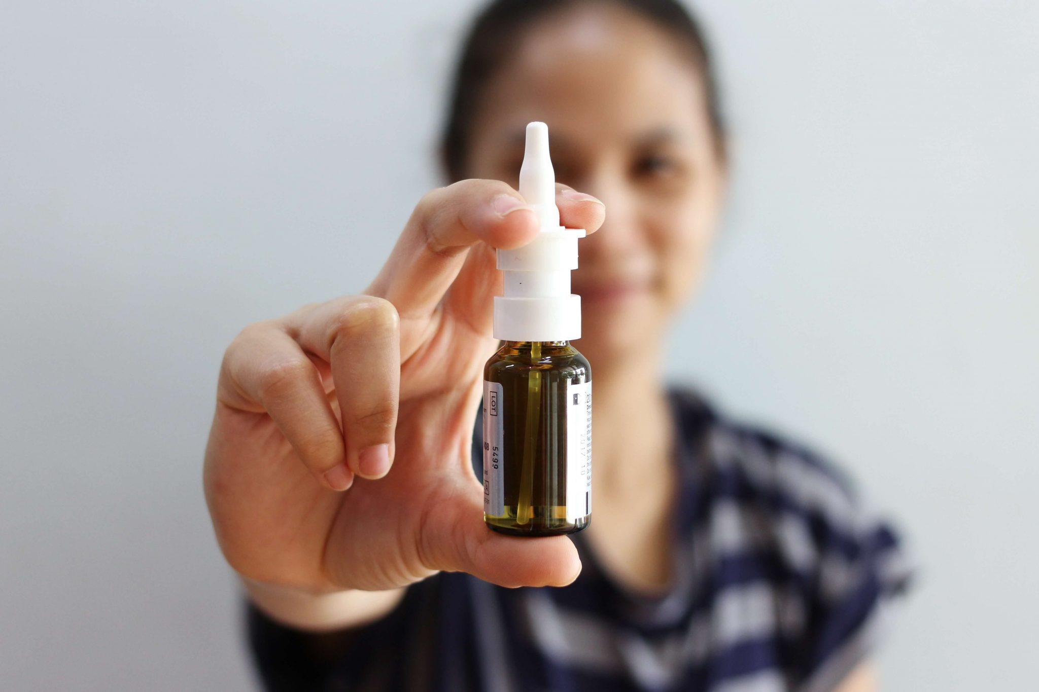 nasal spray for treating depression