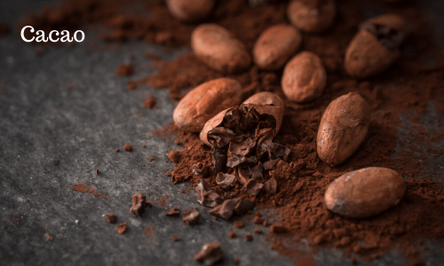 Cacao best natural sources of antioxidants, iron, magnesium and zinc