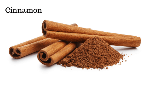 Ground cinnamon is a good source of calcium and iron
