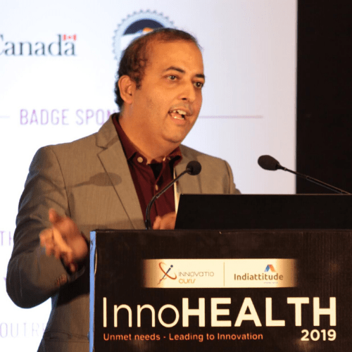 Sachin Gaur at InnoHEALTH 2019