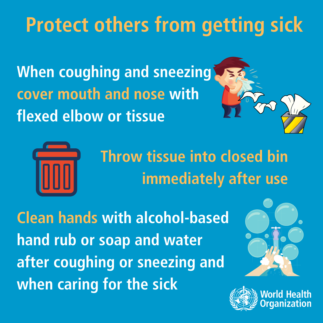 Coronavirus - Protect others from getting sick