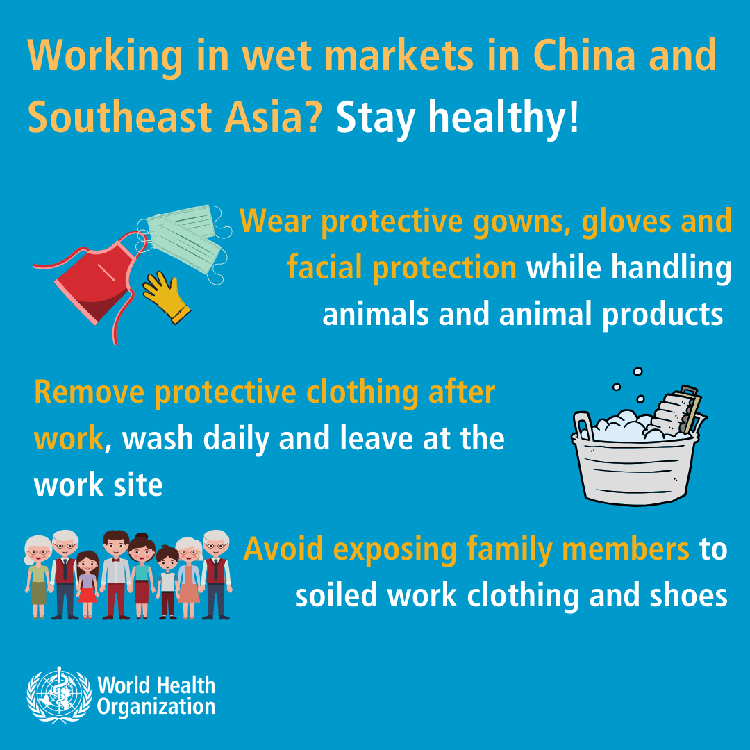 Coronavirus - Shopping in wet markets in China and South east Asia--2