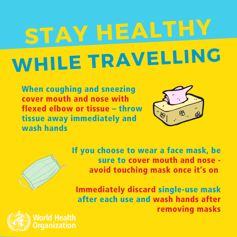 Coronavirus - Stay healthy while traveling-3